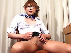 Aiko is looking quite conservative and demure in her latest solo shoot, however us fans know she's anything but conservative as she finds a way to turn us on again in this sexy stroke scene. Enjoy every inch of Aiko`s very hot performance.