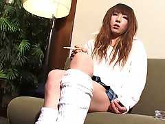 Gorgeous Yuki Nanase returns! Transgirl Yuki has a beautiful face, a stunning body with a great ass and a nice hard cock! See this beautiful tgirl as she poses for you and strokes her hard dick!